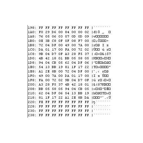 Toyota Rav 4 - 891700R120 Denso 1508000440 - 93c86